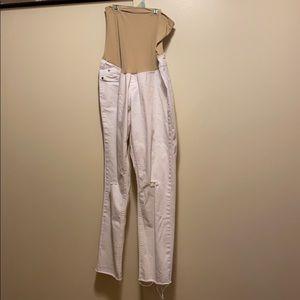 Índigo Blue Maternity white Jeans
